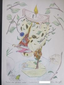 Tod, Zeichnung, Anatomie, Leben
