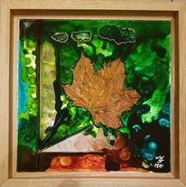 Natur, Licht, Ahornblatt, Frisch
