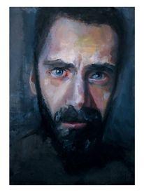 Malerei, Ölmalerei, Porträtmalerei, Holz