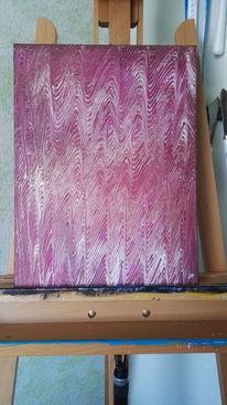 Ungewollt, Abstrakt, Welle, Malerei