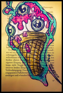 Abstrakt, Farben, Digital, Modern art