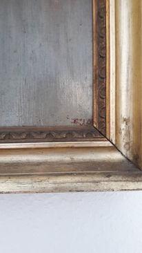 Ölmalerei, Alt, Rote segel, Pinnwand
