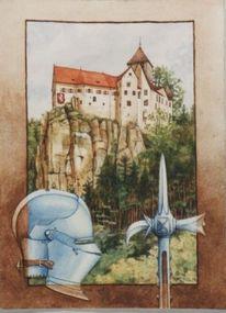 Ruine, Architektur, Burg, Geschichte