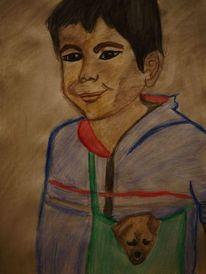 Niño, Felicidad, Farben, Menschen