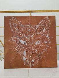 Wolf, Bronze, Gold, Zeichnungen