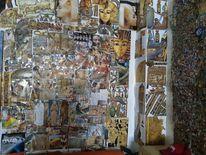 Bunt, Farben, Ägypten, Collage