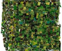 Farben, Musik, Collage, Mischtechnik