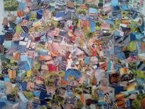 Kino, Bunt, Collage, Farben