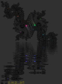 Abstrakt, Goa, Digitalartwork, Farben