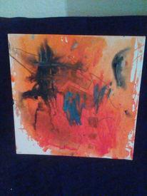 Abstrakt, Malerei acrylmalerei, Malerei modern, Malerei