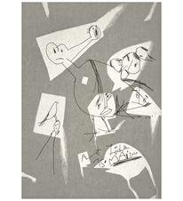 Zeichnung, Art loechle, Zeichnungen,