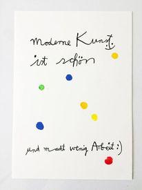 Yes, Moderne kunst, Yesart, Zeichnungen