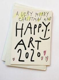 Yes, 2020 yesart, Happy art, Zeichnungen