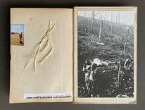Collage, Skizze, Skizzenbuch, Mischtechnik