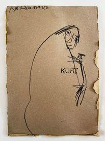 Skizze, Monika, Zeichnung, Zeichnungen