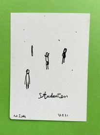 Skizze, Menschen, Zeichnungen,