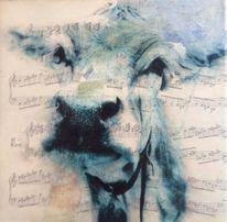 Kuh, Tiere, Modern art, Malerei modern