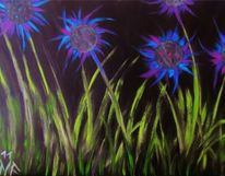 Malerei acryl, Mischtechnik, Acrylmalerei, Malerei