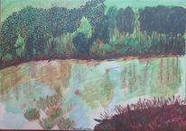 Wasser, Draußen, Sumpf, Menschenleer
