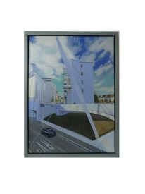 Acrylmalerei, Friedrichshafen, Kunsthaus, Millionenschlucht