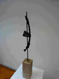 Abstrakt, Expressionismus, Eisen, Skulptur