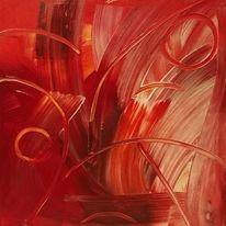Kreis, Rot, Malerei