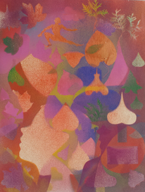 Kunstwerk, Gemälde, Zeitgenössisch, Malerei