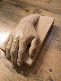 Hand, Tod, Plastik, Letzter