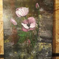 Blumen, Farben, Modern art, Malerei