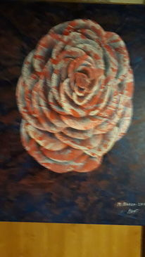 Abstrakt, Blumen, Modern art, Malerei