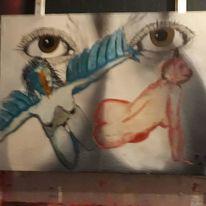 Farben, Menschen, Modern art, Malerei