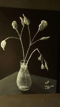 Stillleben, Blumen, Modern art, Malerei