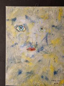 Abstrakt, Menschen, Modern art, Malerei