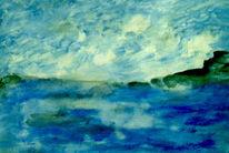 Blau, Himmel, Meer, Malerei