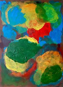 Duo, Bunt, Farben, Malerei