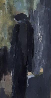 Isolation, Einsamkeit, Allein, Malerei