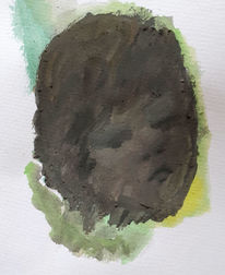 Kopf, Portrait, Kind, Malerei