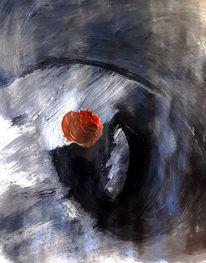 Schwarz, Weiß, Rot, Malerei