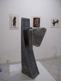 Eisenplastik, Skulptur, Plastik,