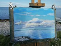 Wolken, Wasser, Strand, Meer
