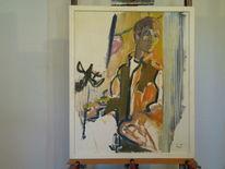 Rahmen, Figur, Malerei,