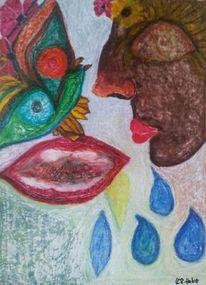 Blumen, Bunt, Tränen, Farben
