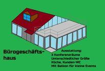 Kompakt, Konferenzräume, Haus, Architektur
