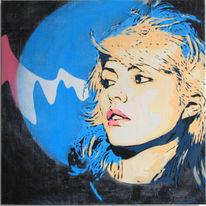 Street art, Menschen, Spraypaint, Acrylmalerei