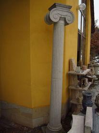 Säule, Ionisch, Sandstein, Antike