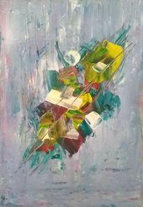 Acrylmalerei, Malerei, Moderne kunst, Abstrakt