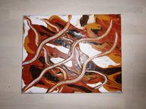 Farben, Acrylmalerei, Abstrakt, Malerei