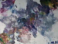 Abstrakt, Modern, Mischtechnik, Moderne malerei