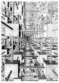 Kuben, Raum, Zeichnung, Zeichnungen
