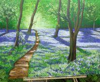 Blau, Wald, Gras, Grün